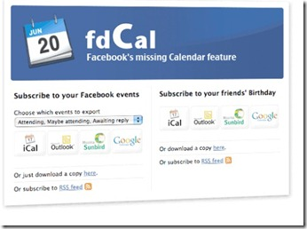 Import Facebook calendar birthdays & events (1/4)