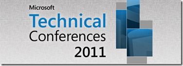 Microsoft Technical Conferences 2011- The All-in-One ! (1/3)